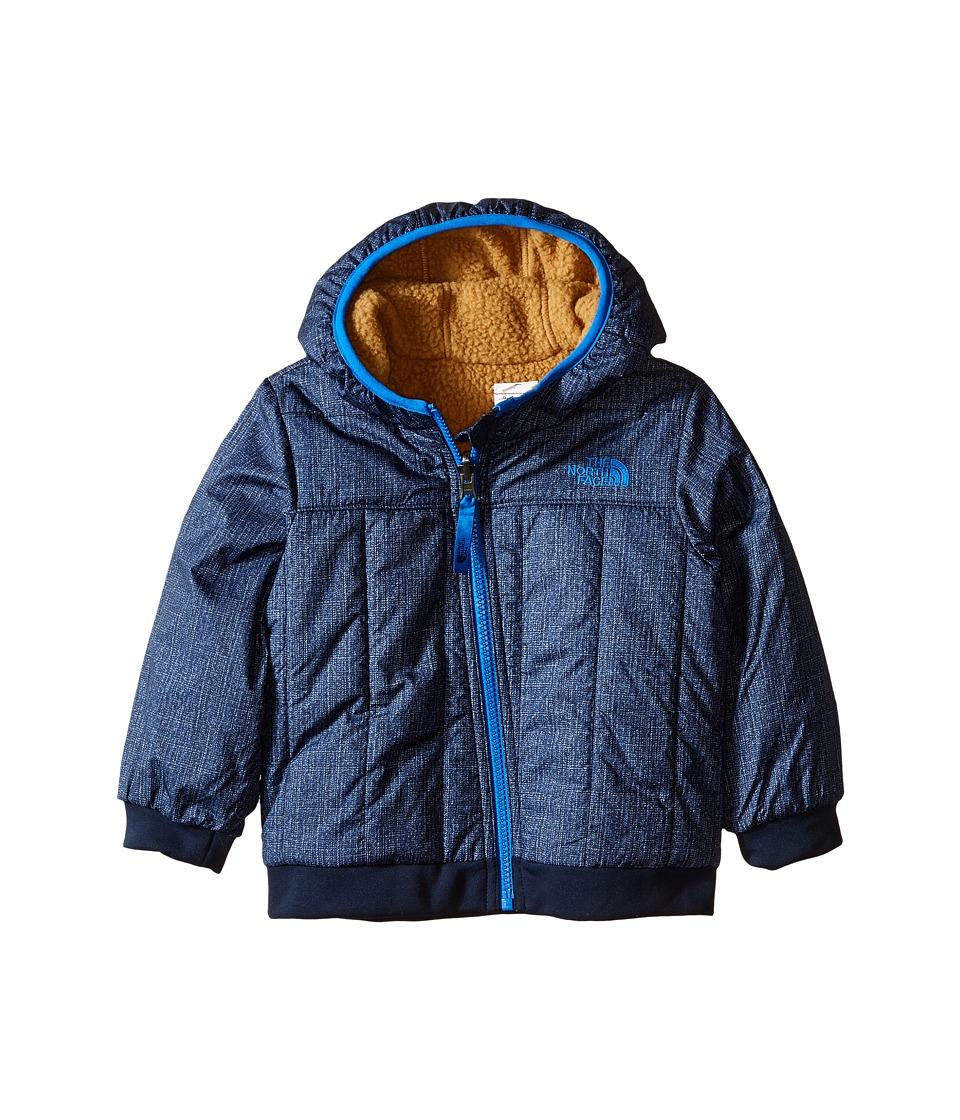 The North Face Kids - Reversible Yukon Hoodie (Infant) (Cosmic Blue Denim Print) Boy's Sweatshirt
