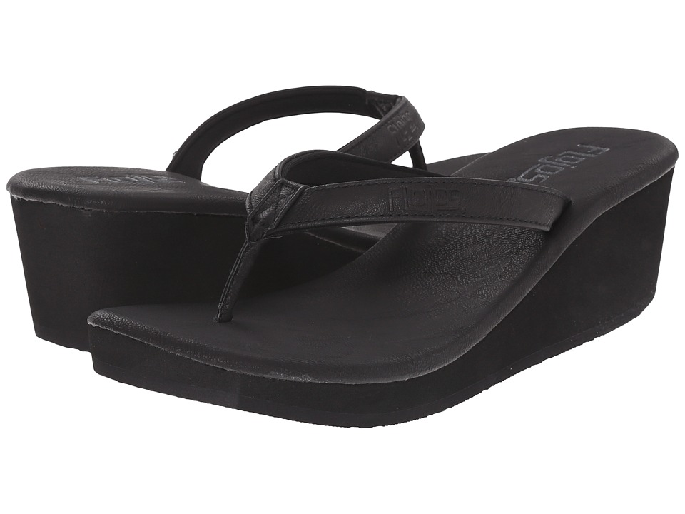 Flojos - Sierra (Black) Women's Sandals