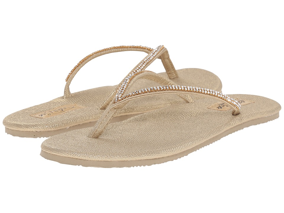 Flojos - Patti (Gold) Women's Sandals