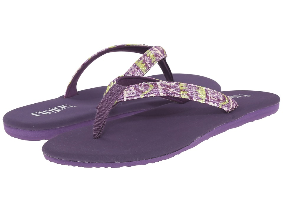 Flojos - Sasha (Purple) Women's Sandals