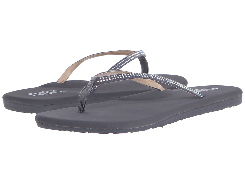 Flojos - Sofie (Charcoal) Women's Sandals