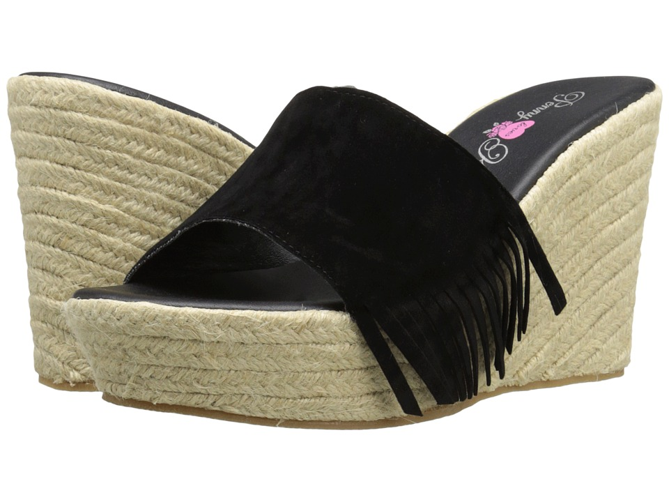 Penny Loves Kenny - Nest (Black) Women's Wedge Shoes