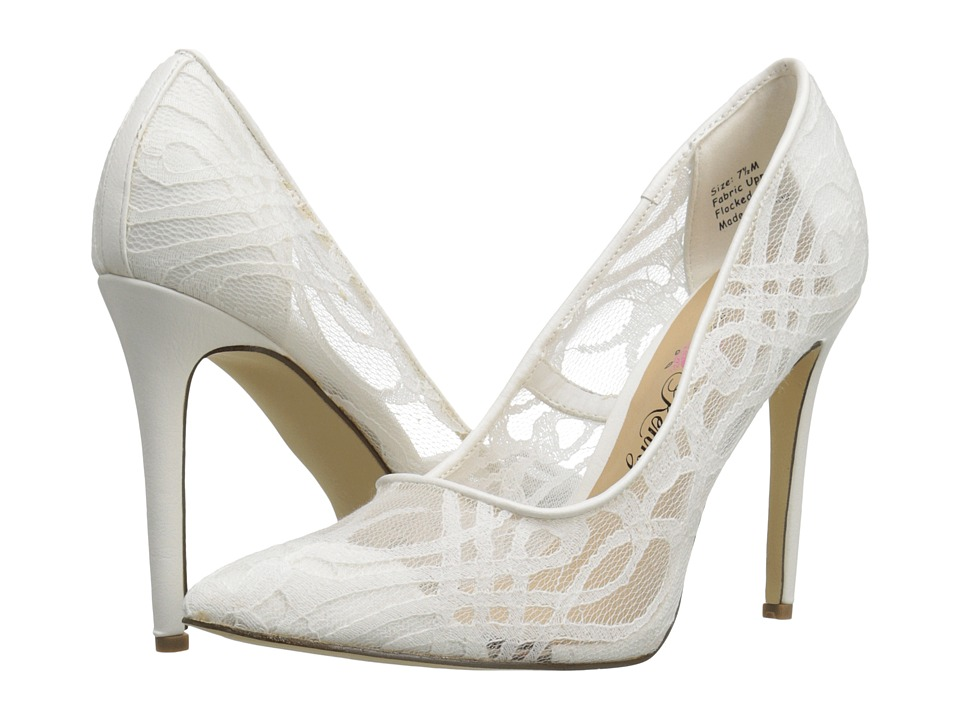Penny Loves Kenny Tender (White) High Heels