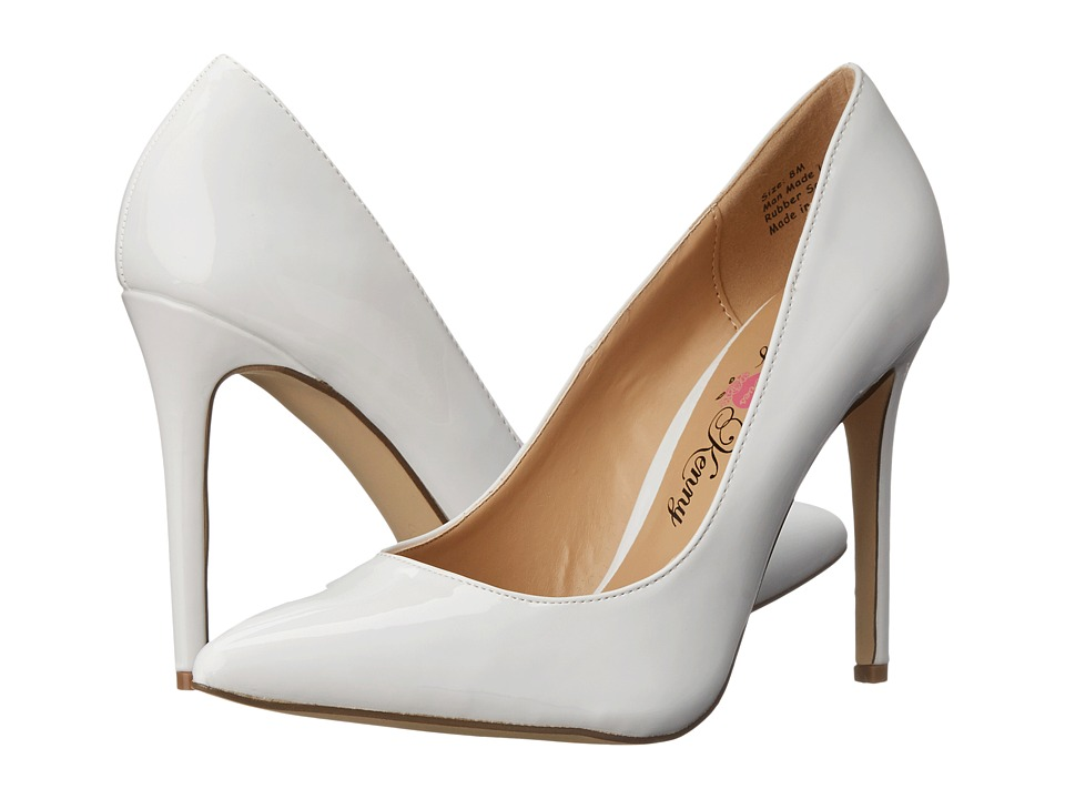 Penny Loves Kenny - Opus Patent (White) High Heels