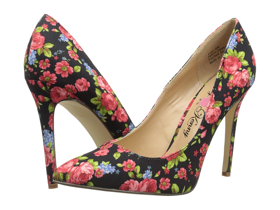 Penny Loves Kenny - Opus Flower (Black) High Heels