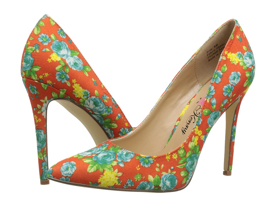 Penny Loves Kenny - Opus Flower (Orange) High Heels