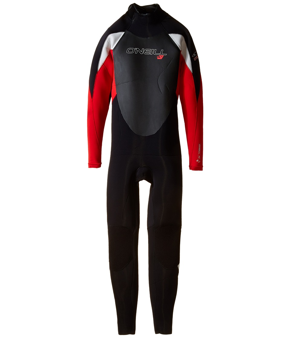 O'Neill Kids - Epic 3/2 (Big Kids) (Black/Red/Lunar) Boy's Swimsuits One Piece