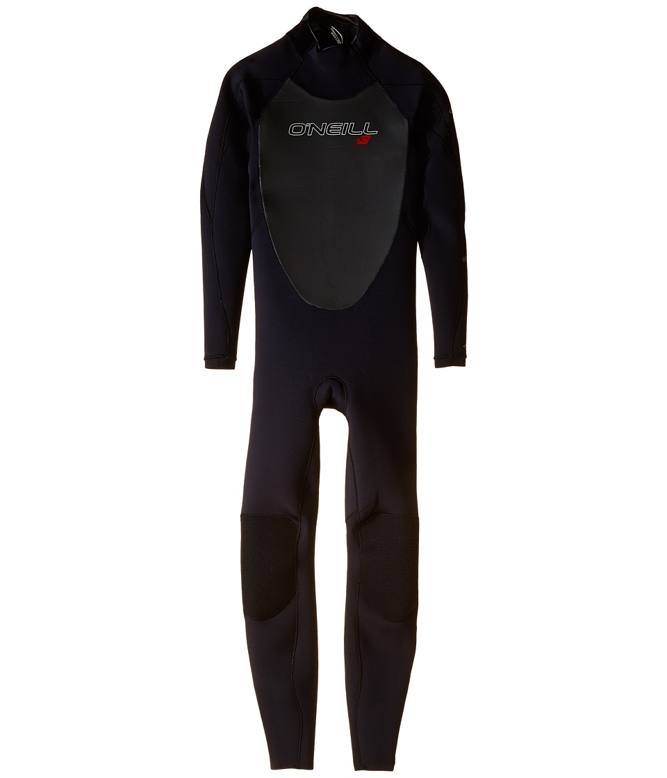 O'Neill Kids - Youth Epic 3/2 (Little Kids/Big Kids) (Black/Black/Black) Boy's Wetsuits One Piece