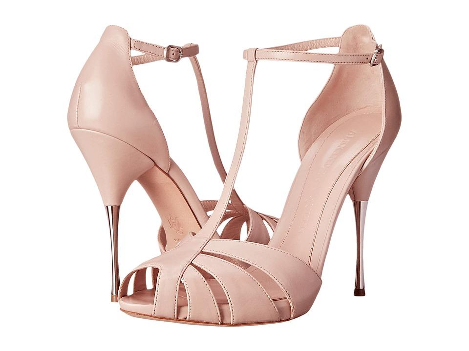 Alexander McQueen - Sandal Pelle S.Cuoio (Patchouli) High Heels
