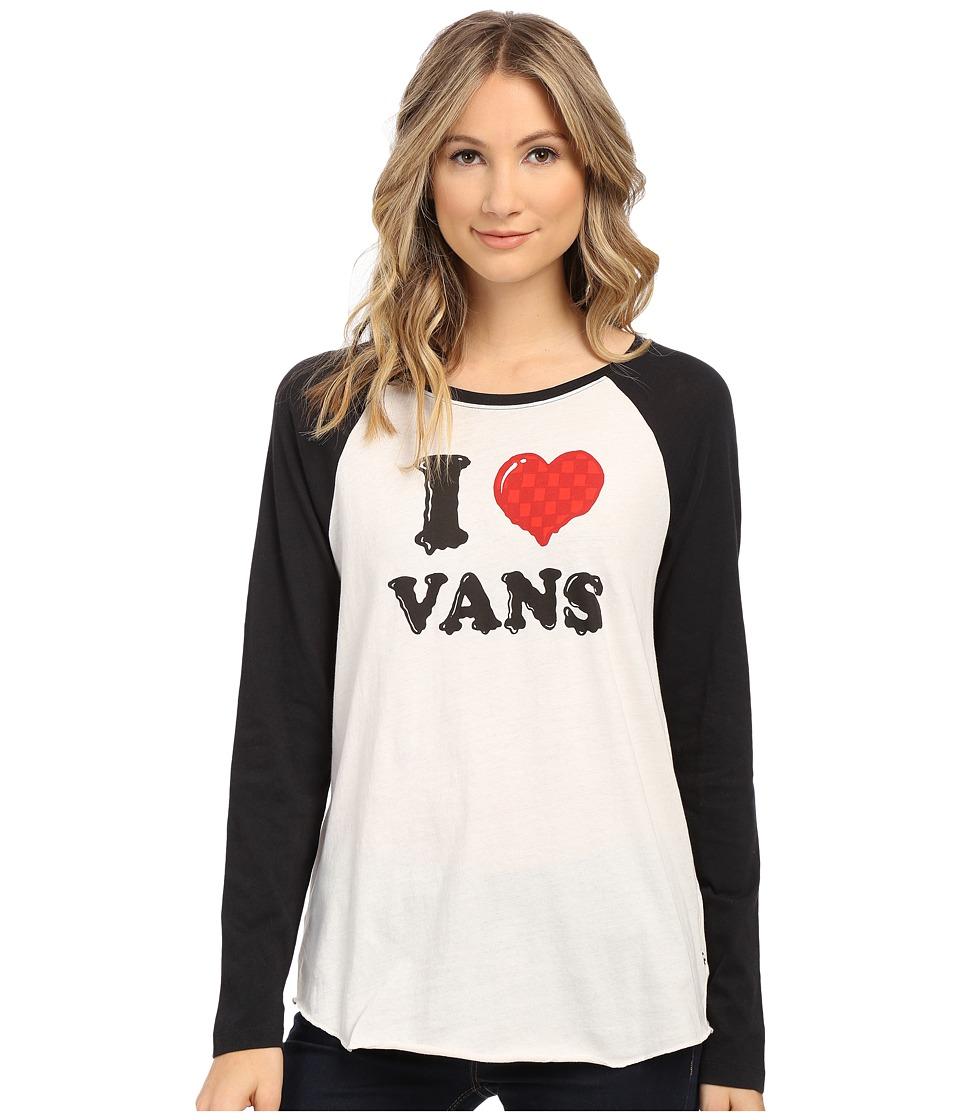 Vans - Hatterad (White Sand/Black) Women's T Shirt