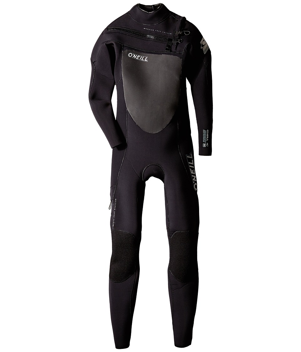 O'Neill Kids - Youth Superfreak Full Zip 3/2 (Big Kids) (Black/Black/Black) Boy's Wetsuits One Piece