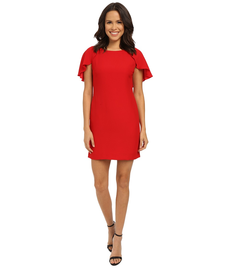 Jessica Simpson - Caplette Shift Dress (Red) Women's Dress