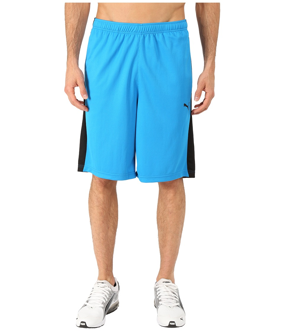 PUMA - Formstripe 10 Short (Cloisonne/Poseidon Print) Men's Shorts