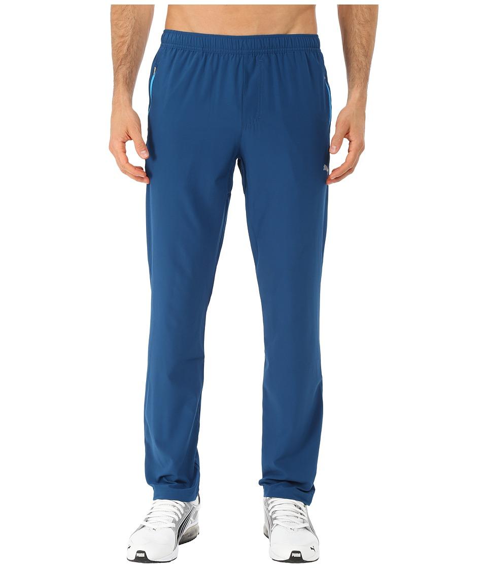 PUMA - Woven Tapered Pants (Poseidon) Men's Casual Pants