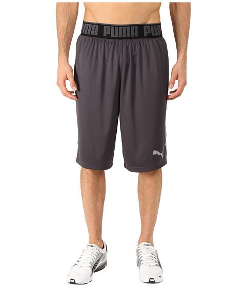 PUMA - 12 Mixed State Shorts II (Periscope/Quarry Print) Men