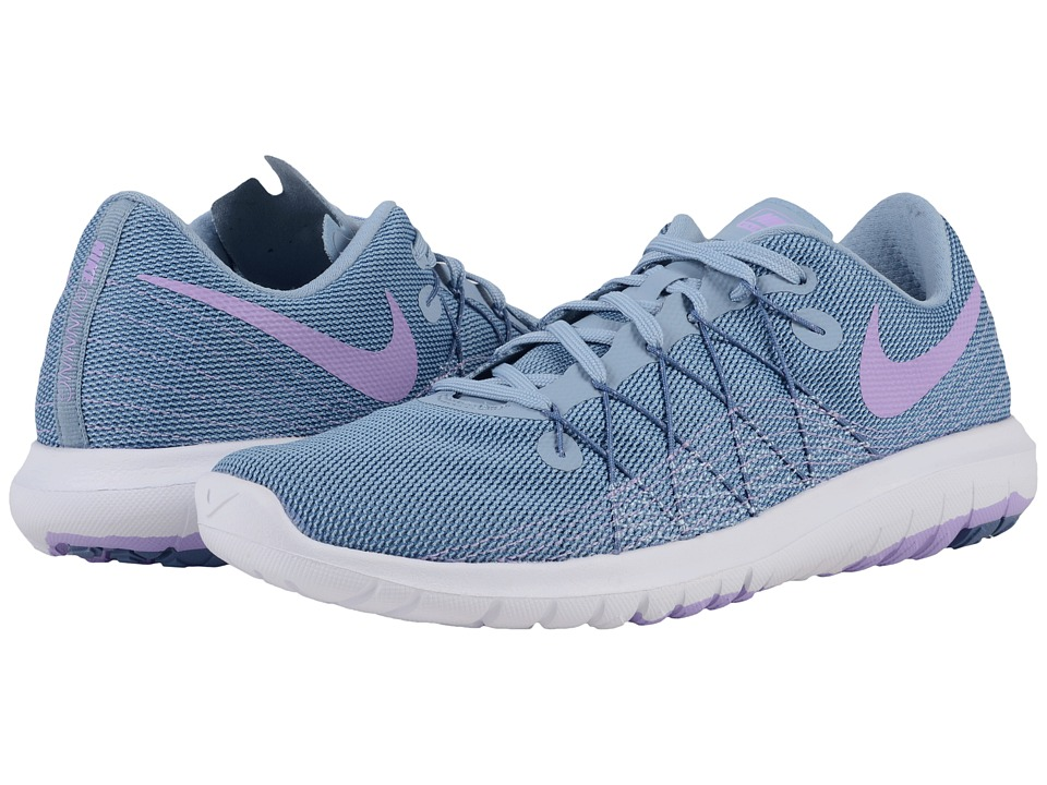 Nike - Flex Fury 2 (Blue Grey/Ocean Fog/White/Urban Lilac) Women's Running Shoes