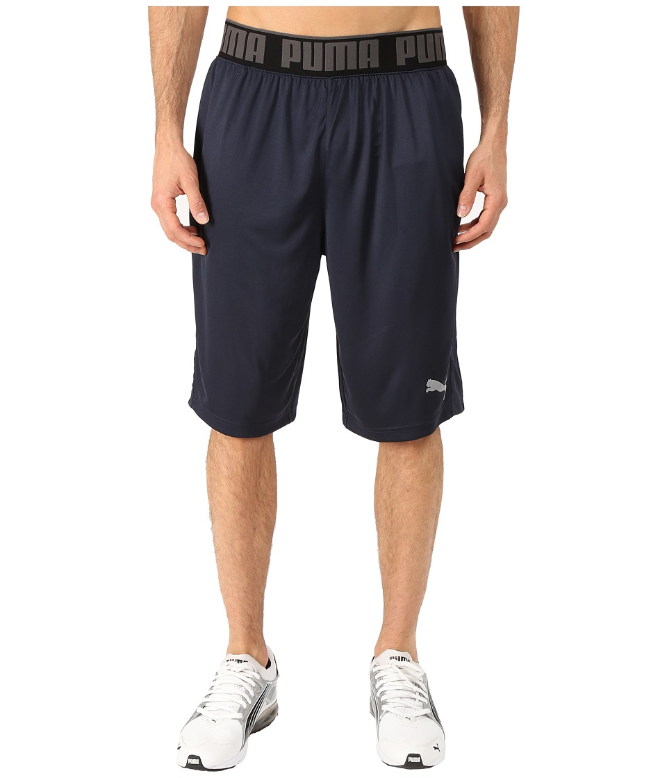 PUMA - 12 Mixed State Shorts II (Periscope/Black) Men's Shorts