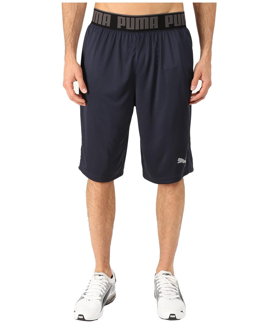 PUMA - 12 Mixed State Shorts II (Periscope/Black) Men