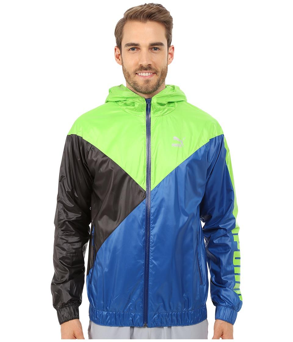 PUMA - Wind Jacket (Jasmine Green) Men's Coat