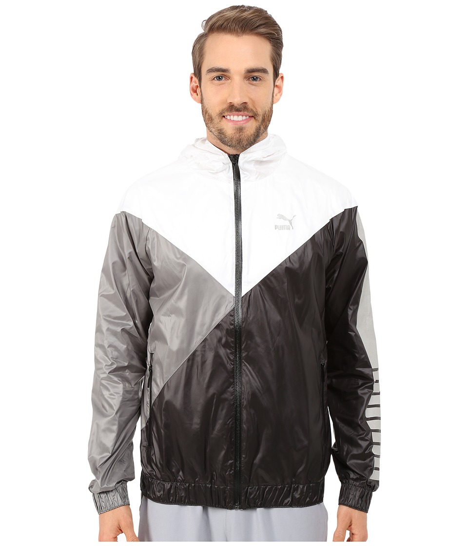 PUMA - Wind Jacket (White) Men's Coat