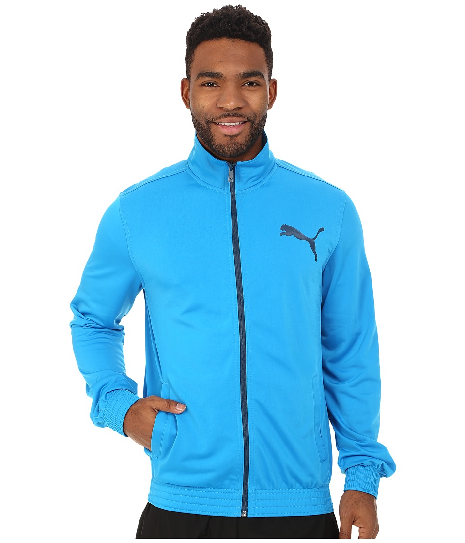 PUMA - Contrast Jacket (Cloisonne/Poseidon) Men's Coat