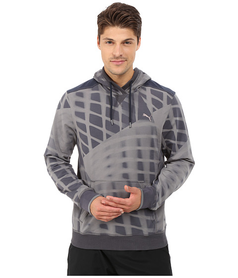 PUMA - Lightweight Hoodie (Periscope/Print) Men's Sweatshirt
