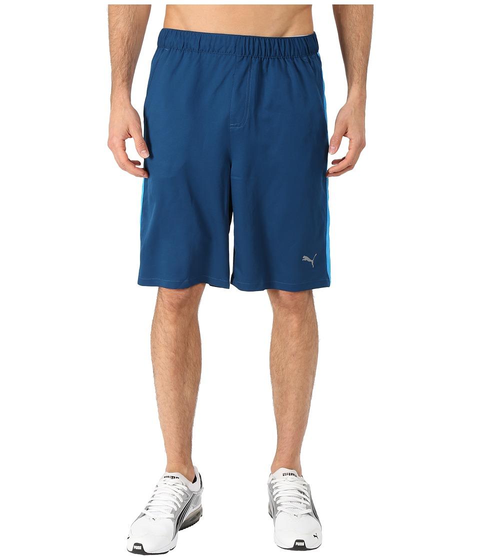 PUMA - Active Stretch 10 Shorts (Poseidon/Cloisonne) Men's Shorts
