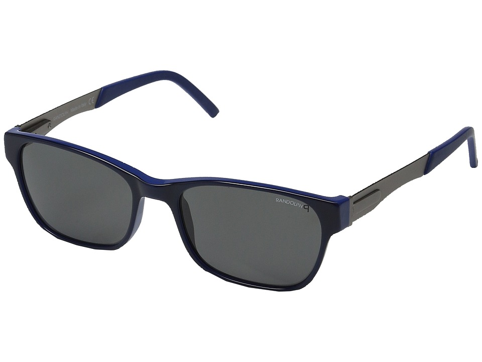 Randolph - Mystic 53mm Polarized (Blue Moon Acetate/Gray Polarized PC) Fashion Sunglasses