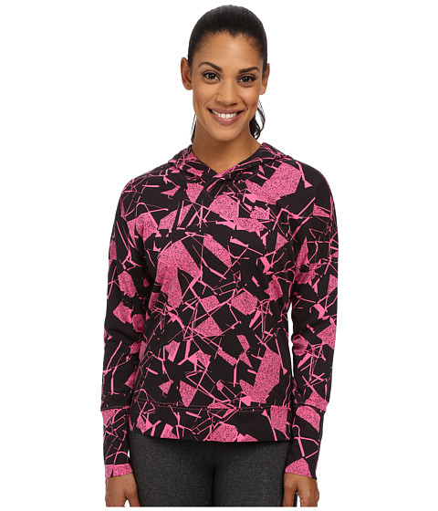 PUMA - Lightweight Pullover Top (Carmine Rose/Print) Women's Clothing
