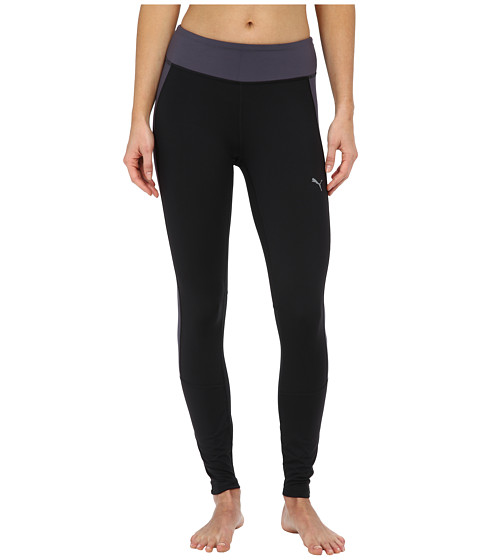 PUMA - WT Coolcell Tights (Black/Periscope) Women's Casual Pants