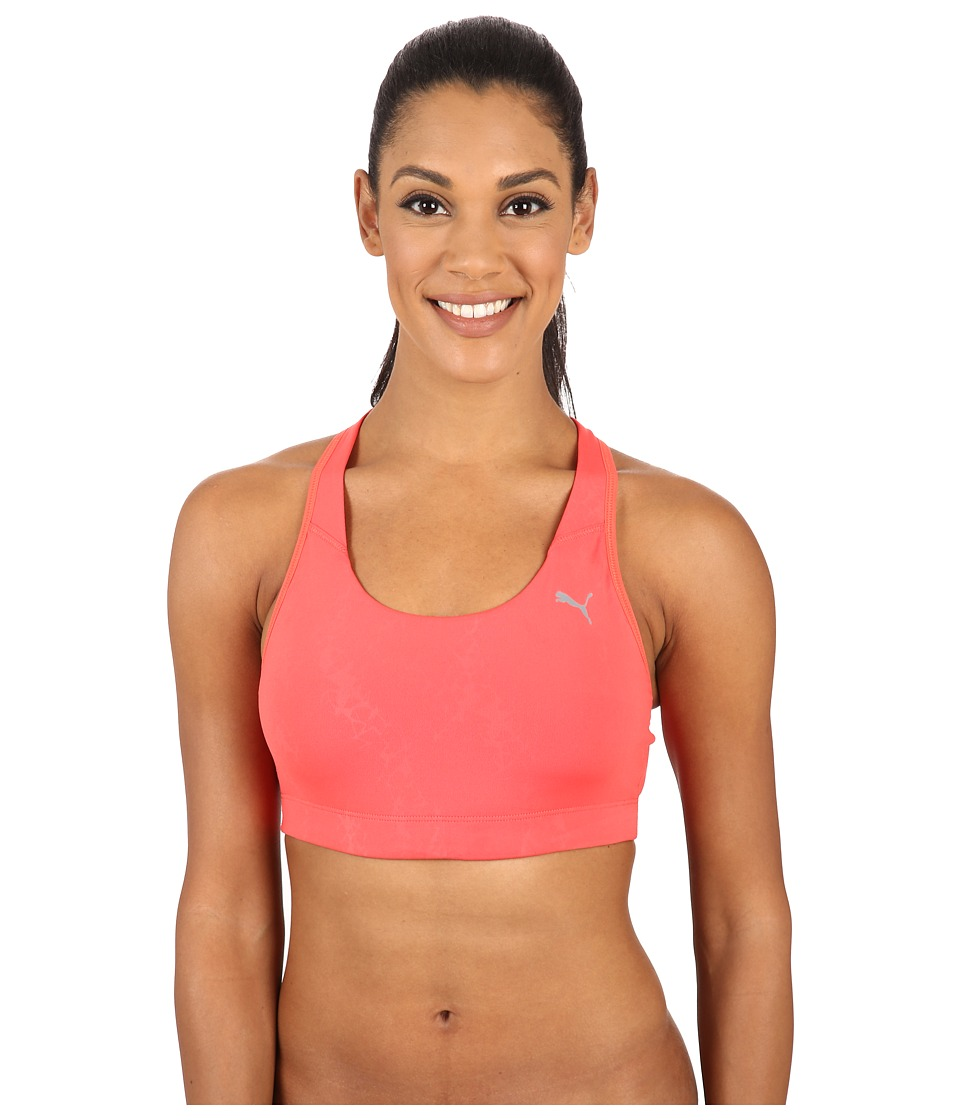 PUMA - WT Essential Graphic Bra (Cayenne) Women