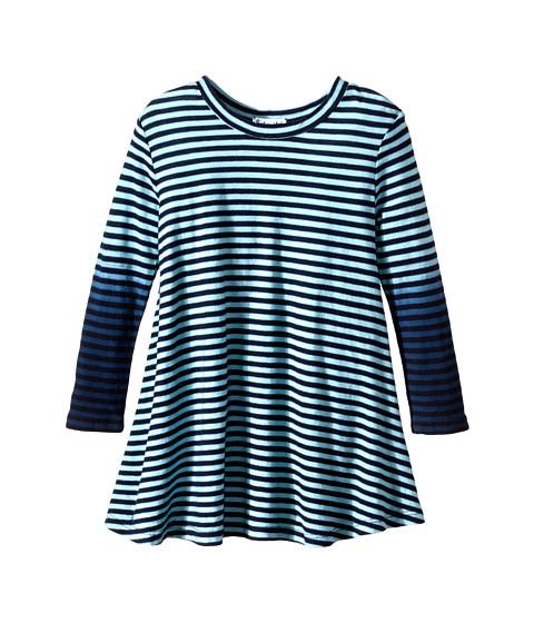 Splendid Littles - Icy Stripe Dress (Toddler) (Aqua) Girl