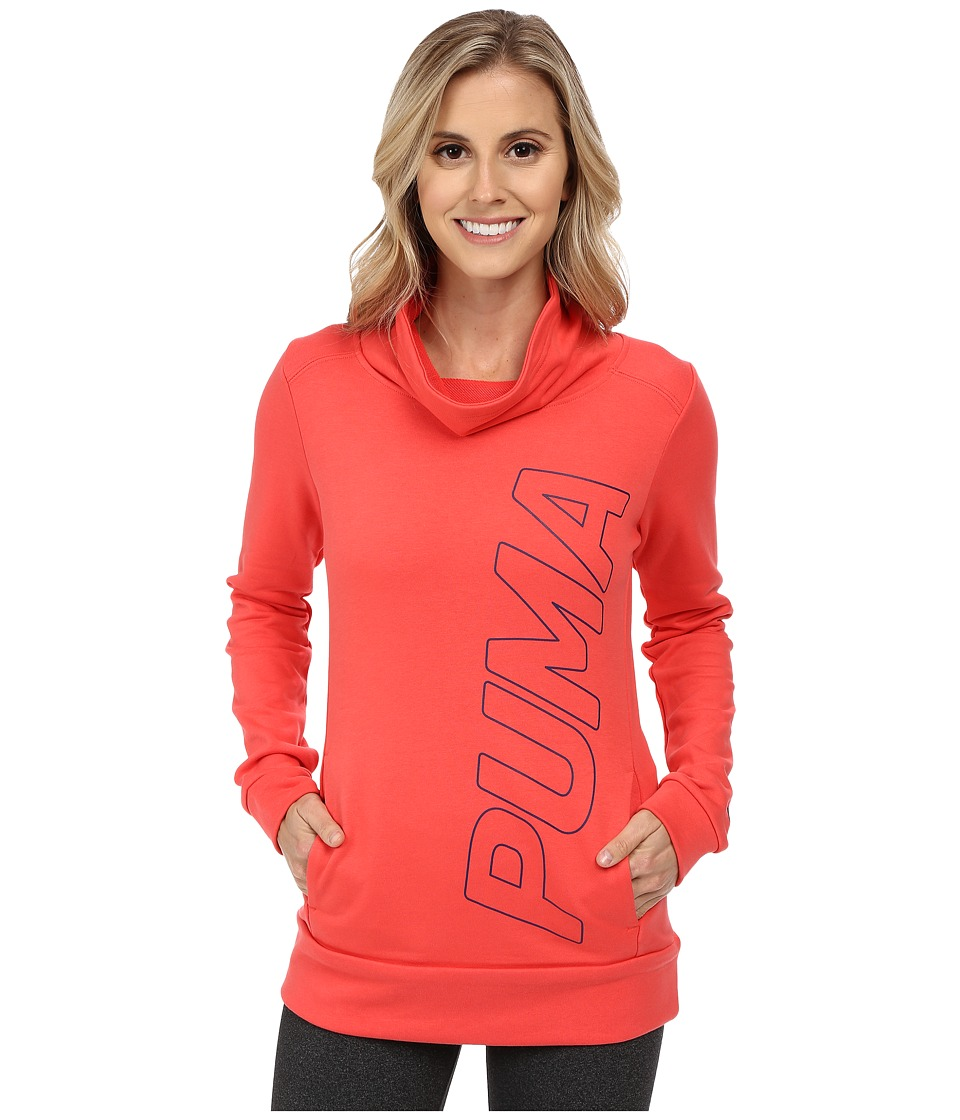 PUMA - French Terry Top (Cayenne) Women