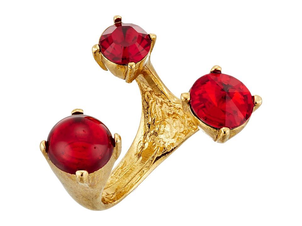 Oscar de la Renta - Multi Stone Ring (Ruby) Ring