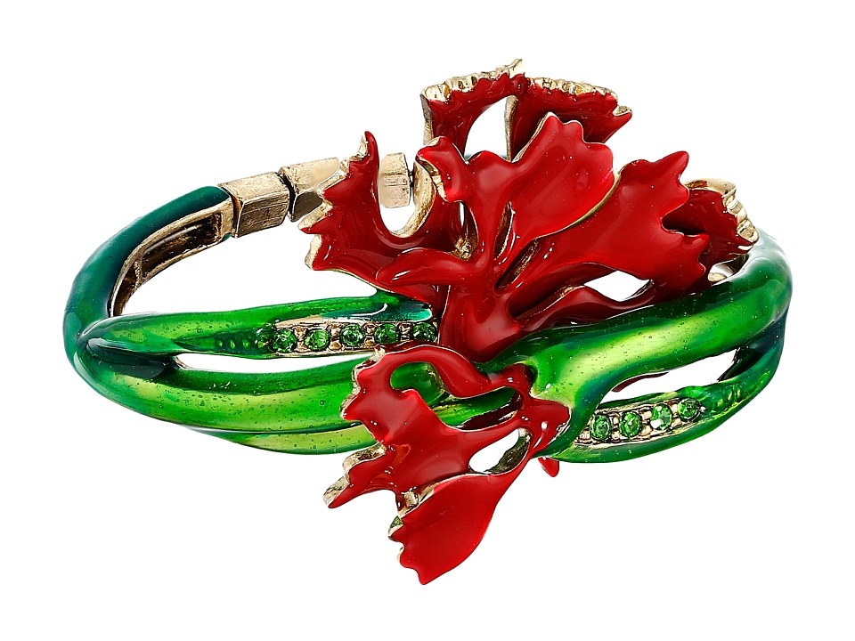 Oscar de la Renta - Carnation Bracelet (Ruby) Bracelet