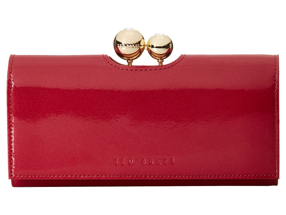 Ted Baker - Hotto (Brick Red) Clutch Handbags