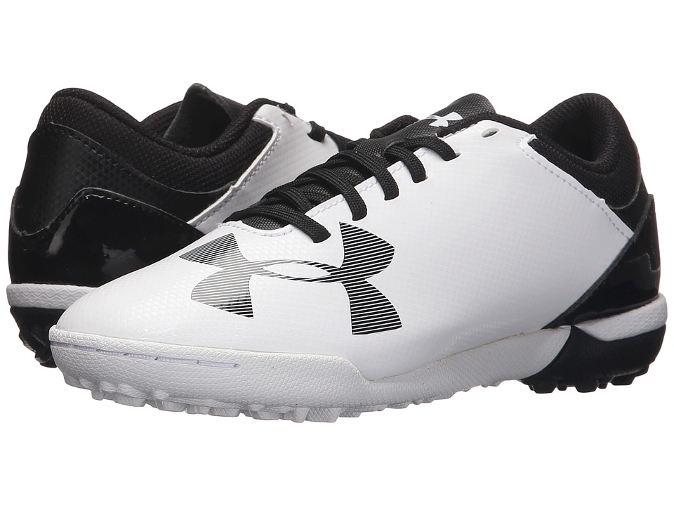 Under Armour Kids - UA Spotlight TR (Little Kid/Big Kid) (White/Black) Kids Shoes