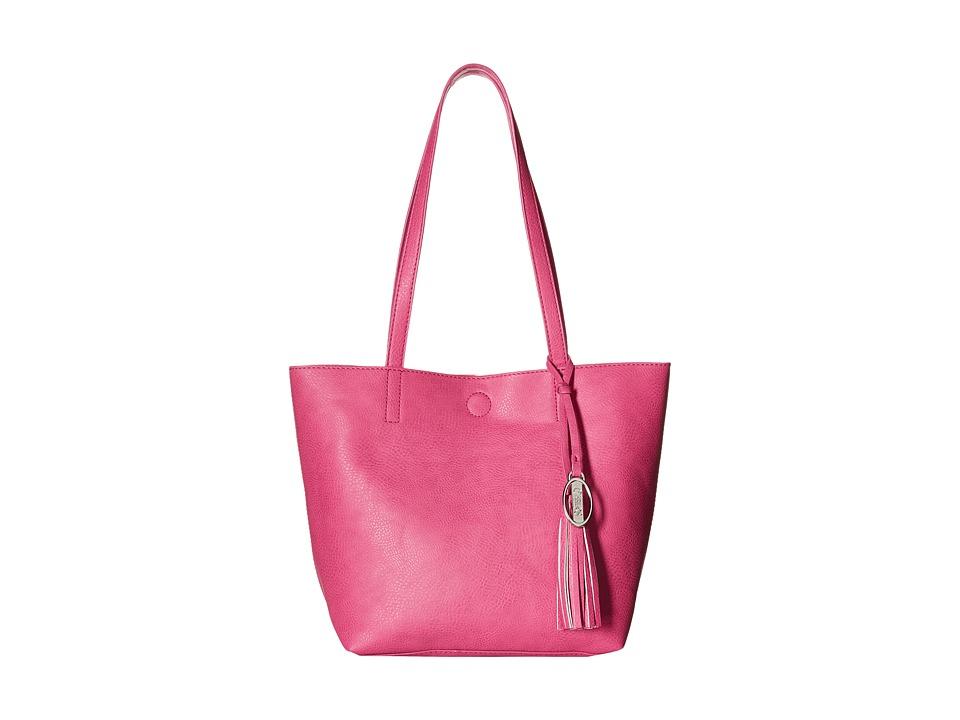 CARLOS by Carlos Santana - Nadia 2-in-1 Tote (Fuchsia/Print) Tote Handbags