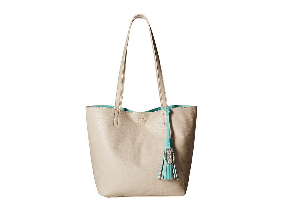 CARLOS by Carlos Santana - Nadia 2-in-1 Tote (Oatmeal/Seafoam) Tote Handbags