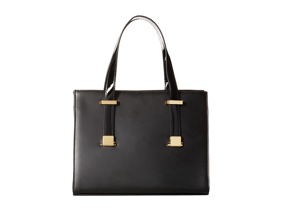 Ted Baker - Hilarey (Black) Satchel Handbags
