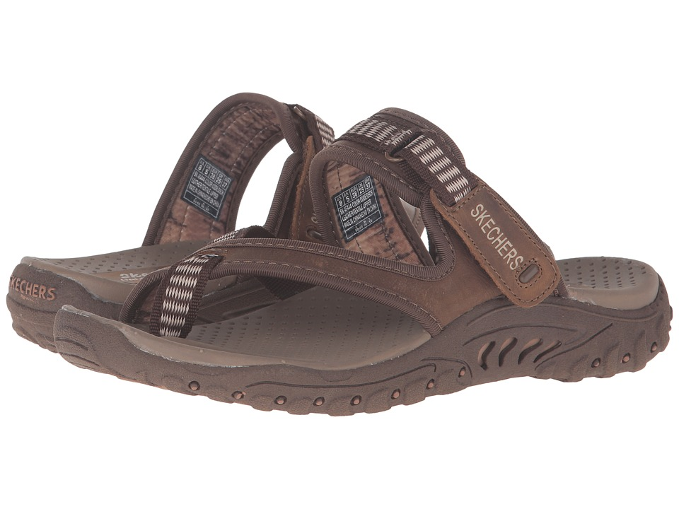 SKECHERS - Reggae - Rasta (Brown) Women's Sandals
