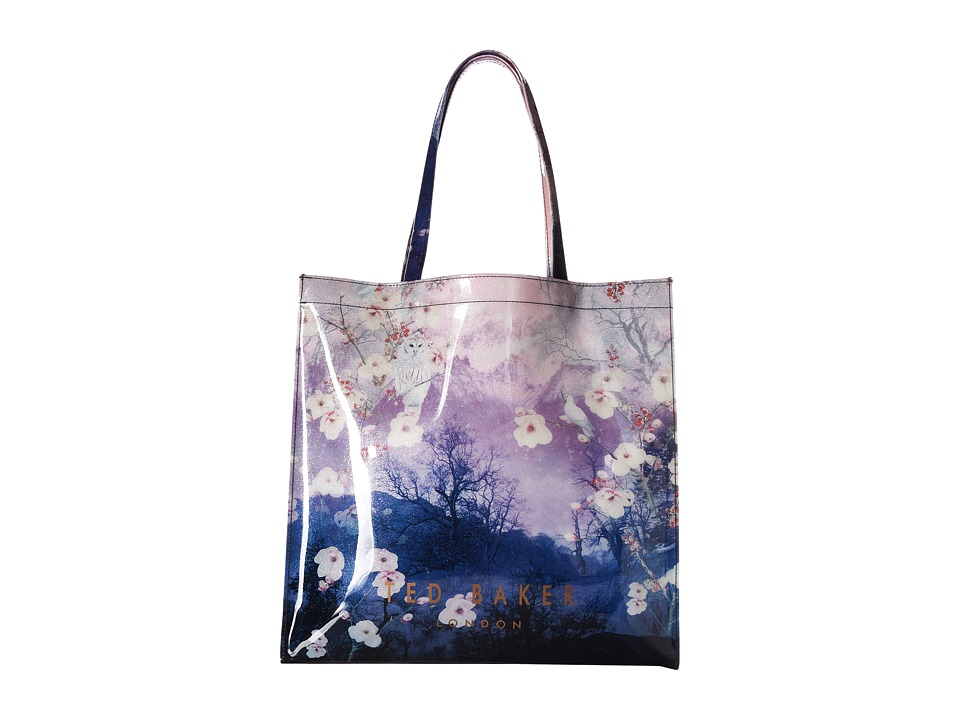 Ted Baker - Owlcon (Mid Blue) Tote Handbags