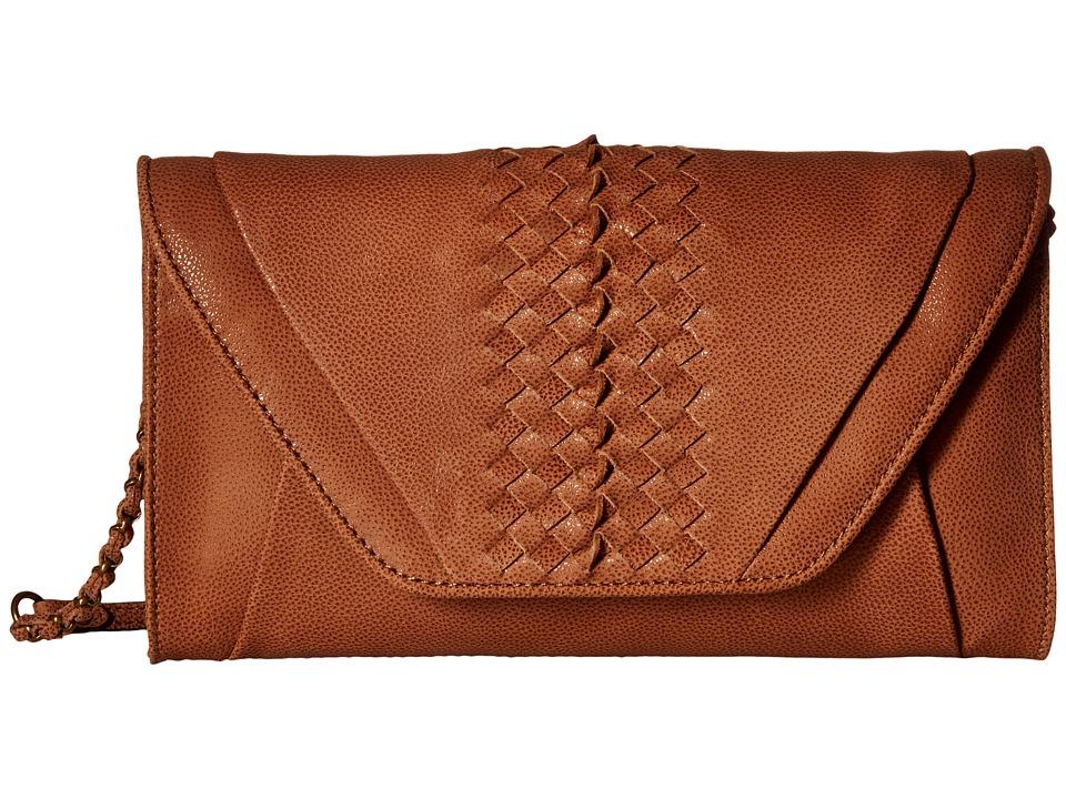 Elliott Lucca - Bali '89 Cordoba Clutch (Almond Sumatra) Clutch Handbags