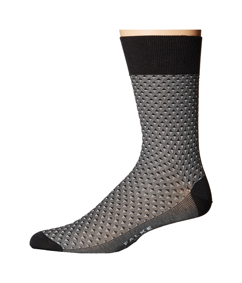 Falke - Triangle Tie Sock (Anthracite Melange) Men's Crew Cut Socks Shoes
