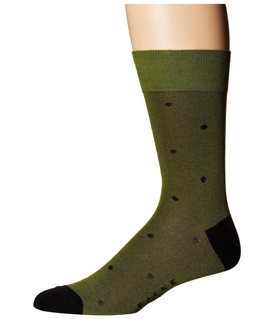 Falke - Dot Sock (Cactus) Men's Crew Cut Socks Shoes