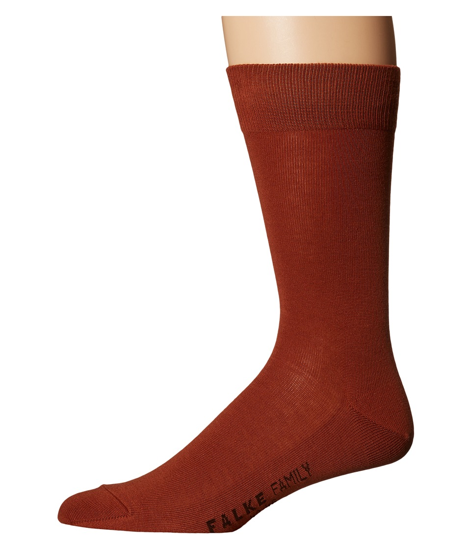 Falke - Family Sock (Sienna) Men's Crew Cut Socks Shoes