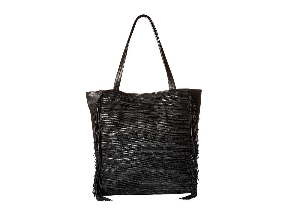 Elliott Lucca - Bali '89 All Day Tote (Black Melaya) Tote Handbags