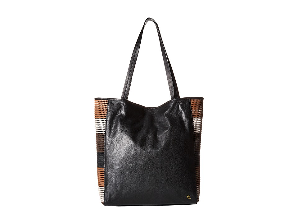 Elliott Lucca - Bali '89 All Day Tote (Almond Stripe Rendang) Tote Handbags