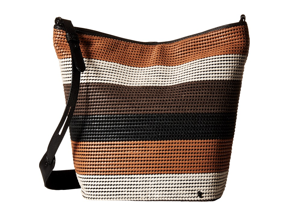 Elliott Lucca - Bali '89 Marin Bucket (Almond Stripe Rendang) Handbags