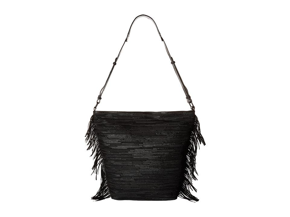Elliott Lucca - Bali '89 Marin Bucket (Black Melaya) Handbags